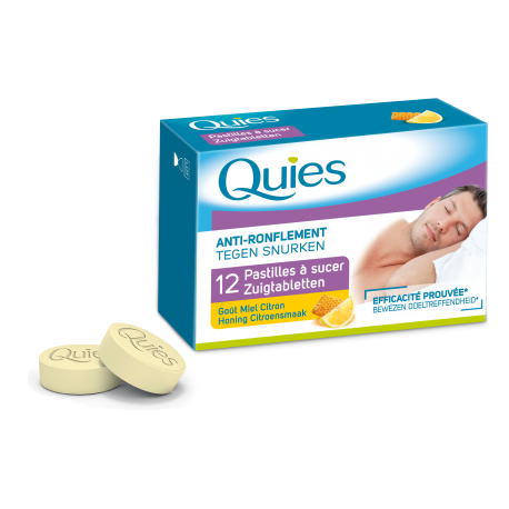 Quies pastilles anti-ronflements miel-citron