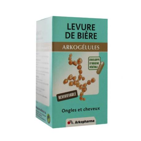 ARKOGELULES LEVURE DE BIERE BOITE DE 150