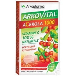ARKO ACEROLA 1000 BOITE DE 30 LOT DE 2